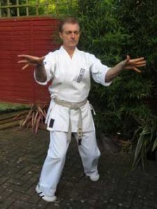 "Tensho kata means ""Turning hands or revolving hands"""