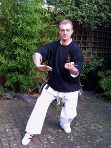 Chief instructor Steve Martin Shizendo Karate