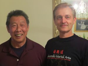chief instructor steve martin and world renowned instructor willie lim
