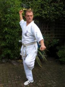 Chinto karate kate, children and adult